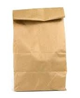 5638bd609c 4-Ply brown paper bag with an open mouthed pasted bottom.